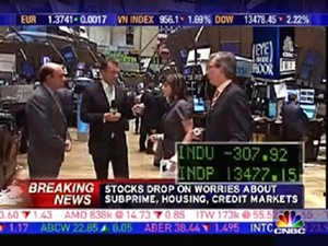 Breaking news financial crisis