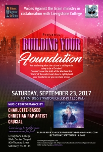 Flyer Building Your Foundation 092317