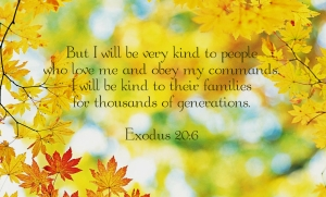 Forever Mercy Exodus 20 and 6