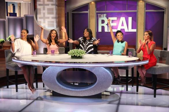 "Hosts of ""The Real"" daytime talk show"