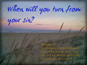 turn from your sin