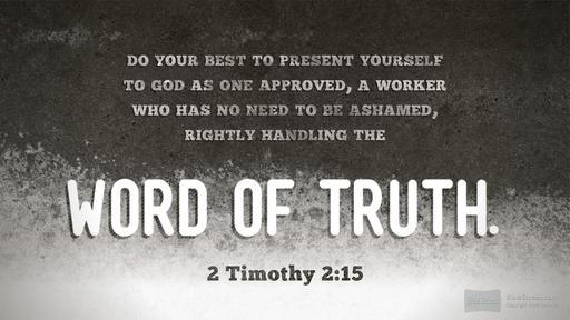 2 Timothy 2 15 black and white