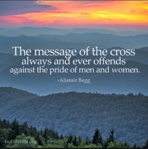True Gospel Message of the Cross