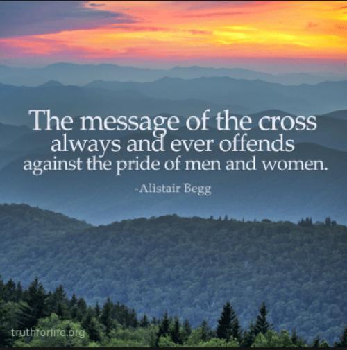 True Gospel Message of the Cross