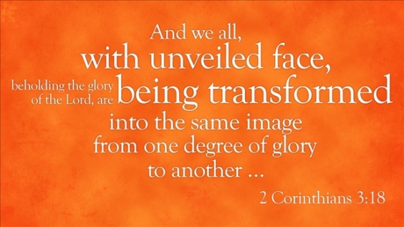 2 Corinthians 3-18 with unveiled faces