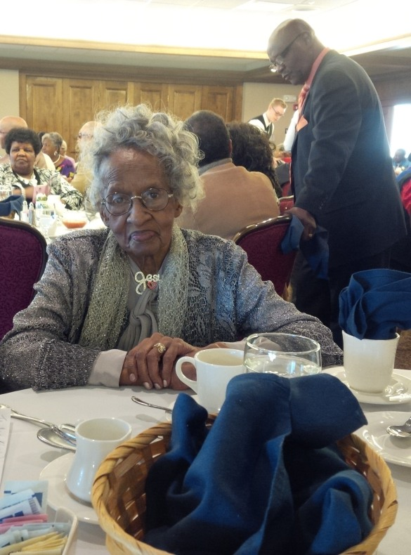 Grandma Thelma F. Hayes, 100th Birthday Celebration, November 7, 2015 in Topeka, KS.