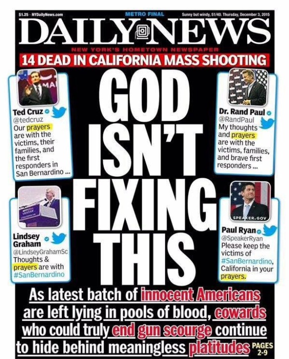God Isn't Fixing This NY Daily News