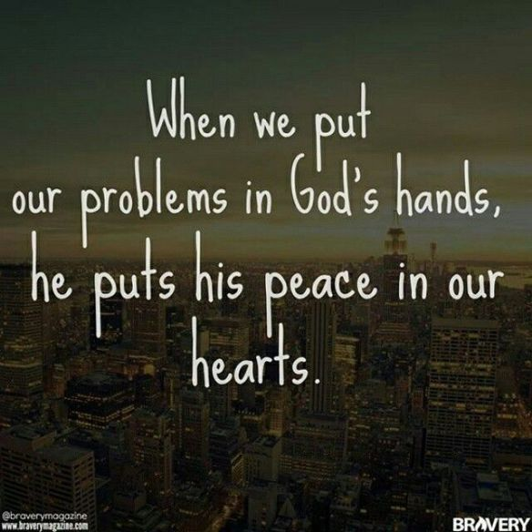 Don't Worry God's Peace