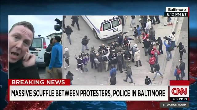 Baltimore riots CNN