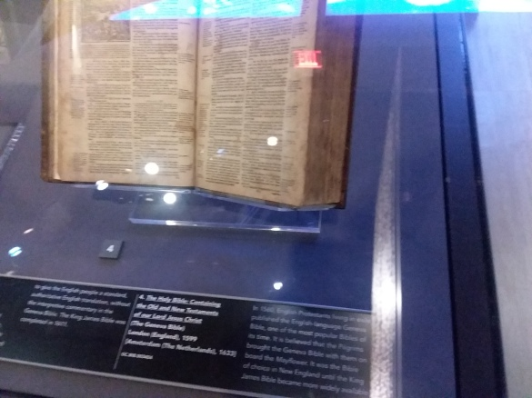 Museum of the Bible bible